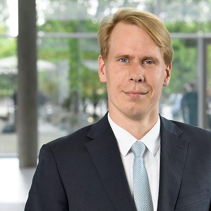 Carlo Bewersdorf, der Vorstand für Marketing und Vertrieb der Hannoverschen.